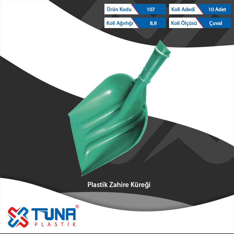 Plastıc Grain Shovel