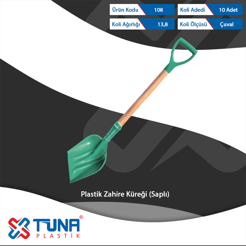 Plastıc Grain Shovel with Handle